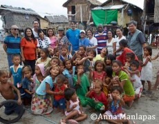 Cartwheel and Partners visit the Badjaos of Dalahican, Lucena