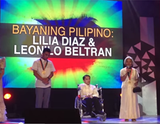 Lilia Diaz, Teacher to the Tagbanuas: Bayaning Pilipino Awardee
