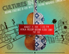 Cultures in Harmony USA collaborates with CFI for workshops and concert