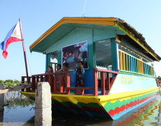 Launching and Blessing of Floating Classroom in Zamboanga